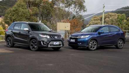 2016 Suzuki Vitara Turbo vs Honda HR-V: small SUV comparison