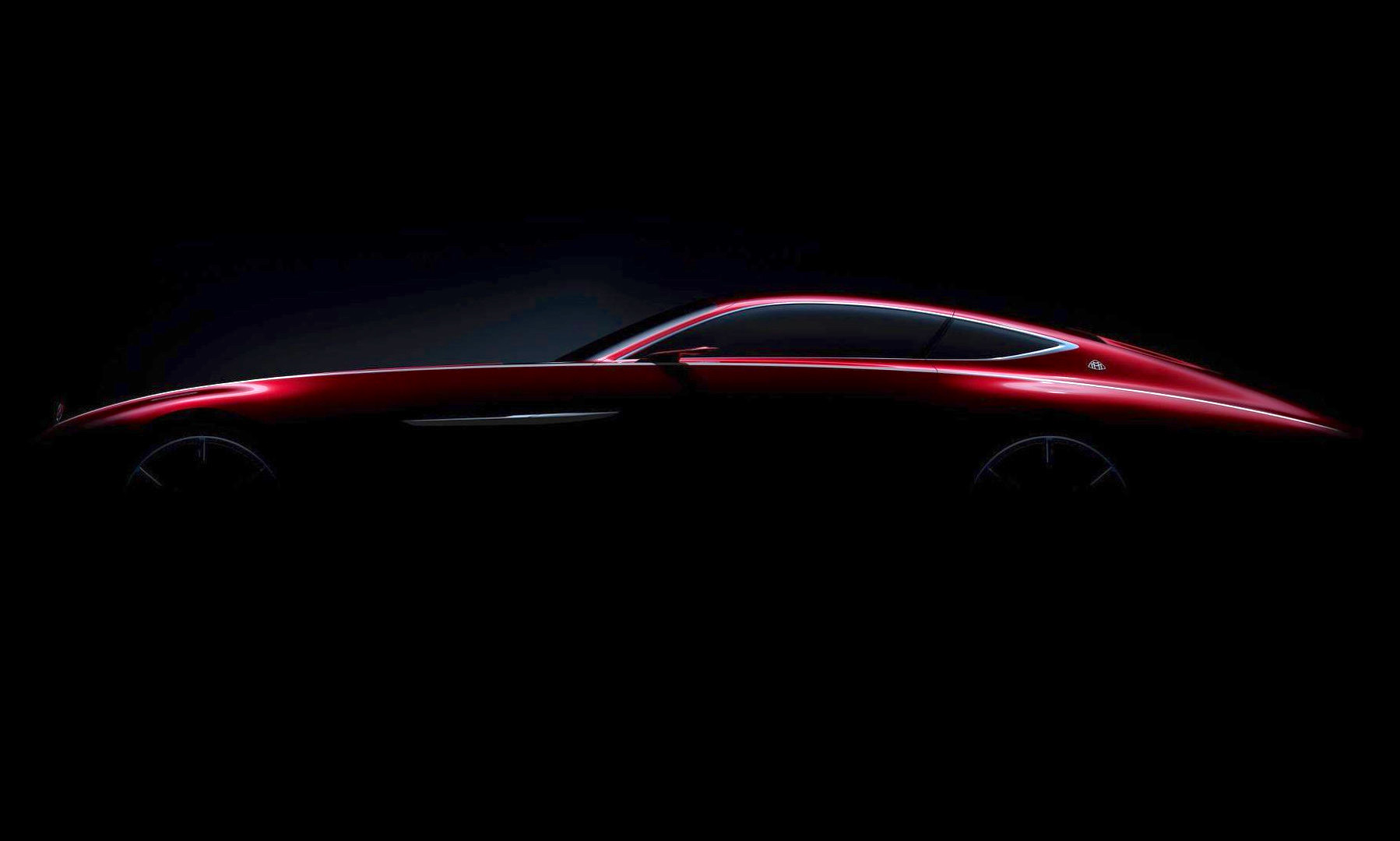 Mercedes-Benz Teases New Maybach Coupe Concept