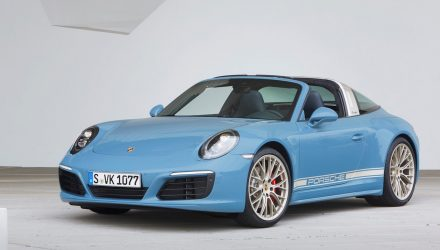Porsche Exclusive reveals 911 Targa 4S 'Design Edition'