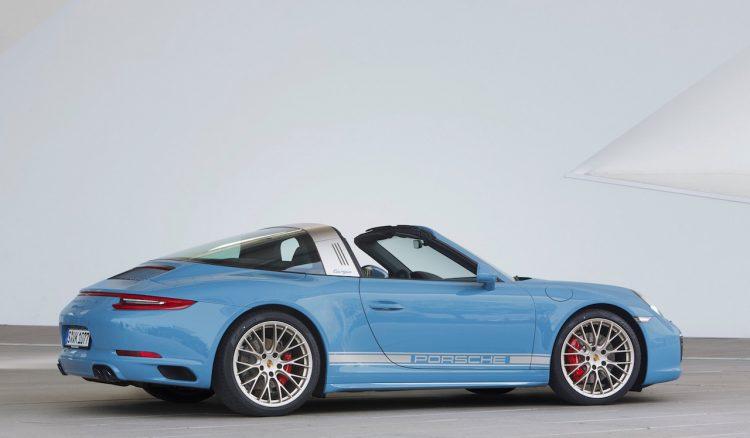 2016 Porsche 911 Targa Design Edition-rear