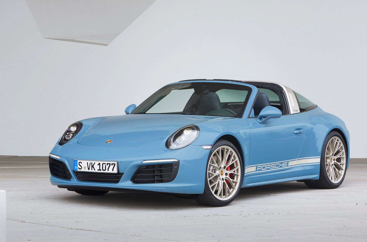 porsche exclusive reveals 911 targa 4s 39 design edition 39 performancedrive. Black Bedroom Furniture Sets. Home Design Ideas