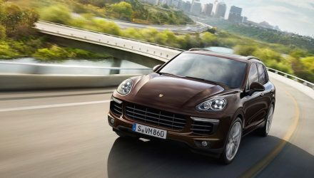 Porsche Cayenne 'Coupe' under development