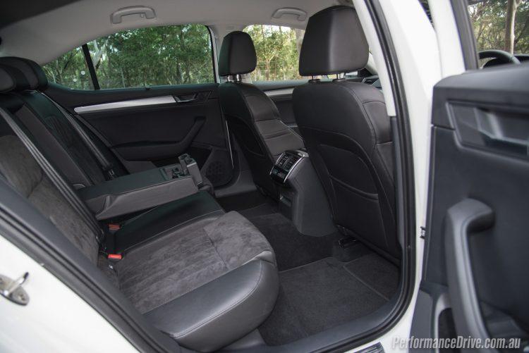2016 Skoda Superb 162TSI-rear seats