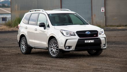 2016 Subaru Forester tS STI review (video)
