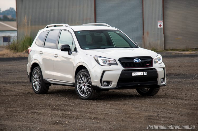2016 Subaru Forester tS STI