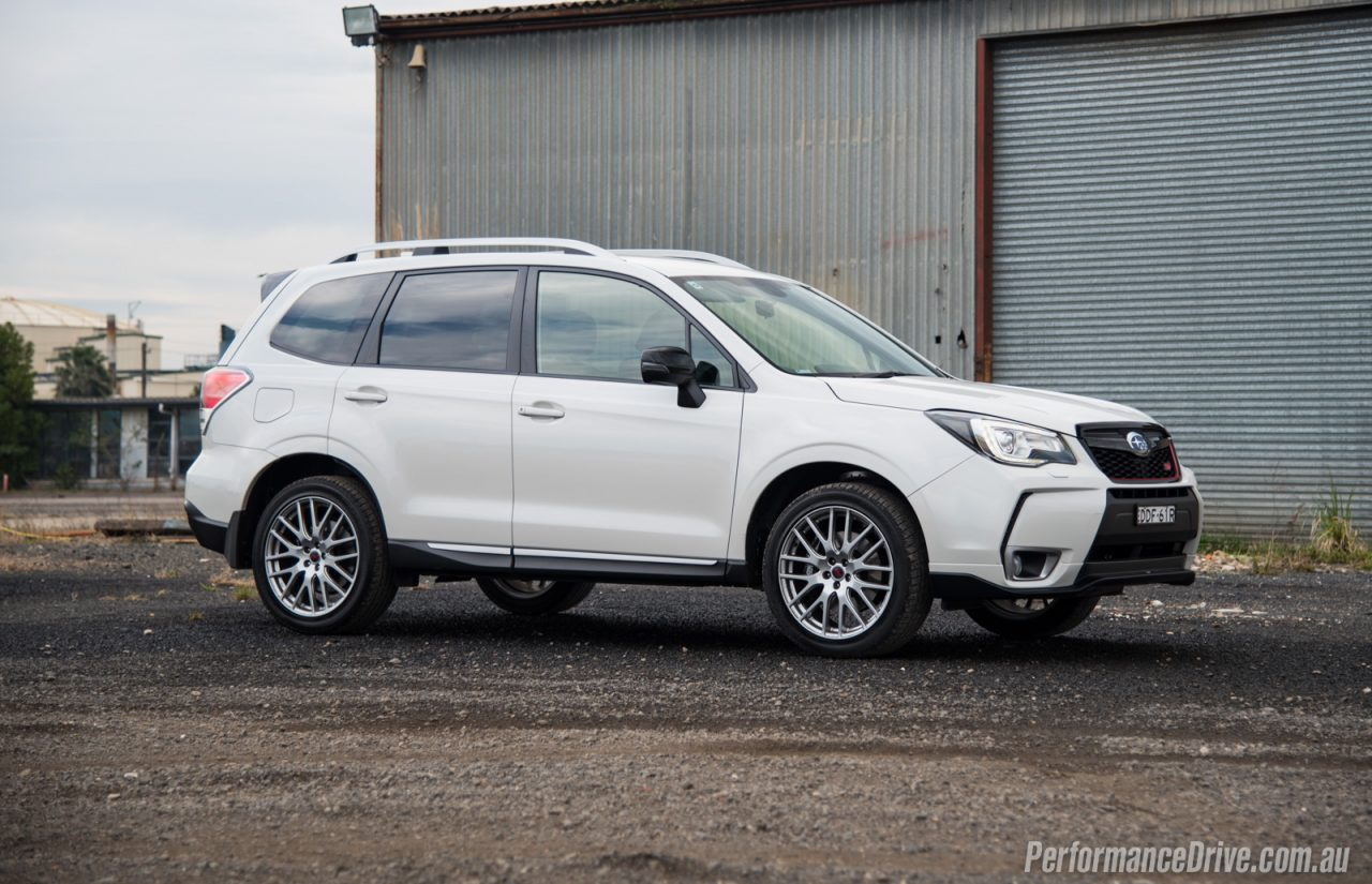 2016 subaru forester ts sti review video performancedrive. Black Bedroom Furniture Sets. Home Design Ideas