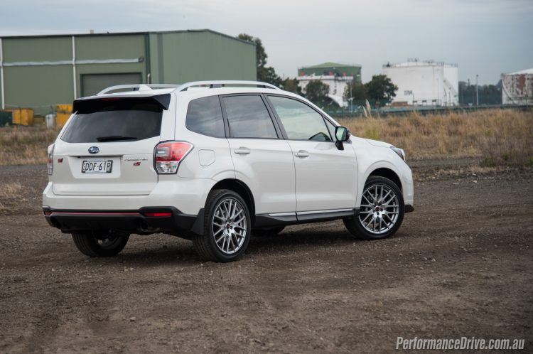 2016 Subaru Forester tS STI-rear