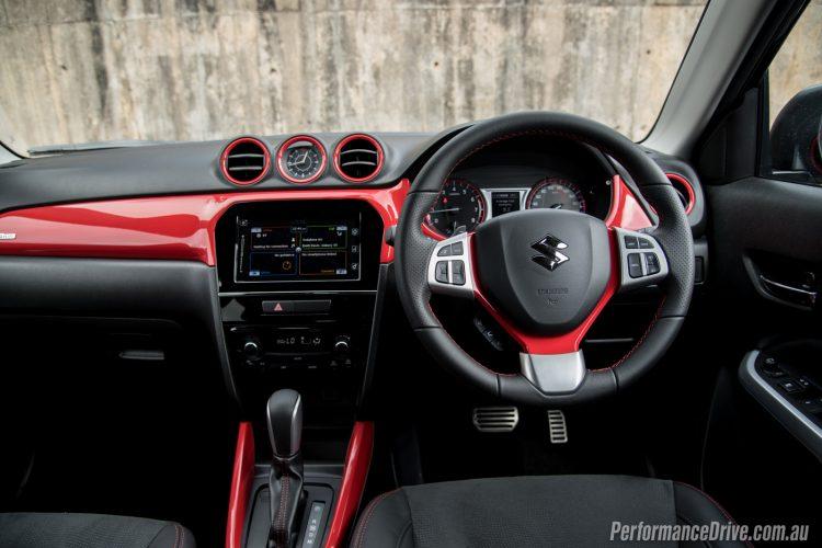 2016 Suzuki Vitara S-Turbo interior