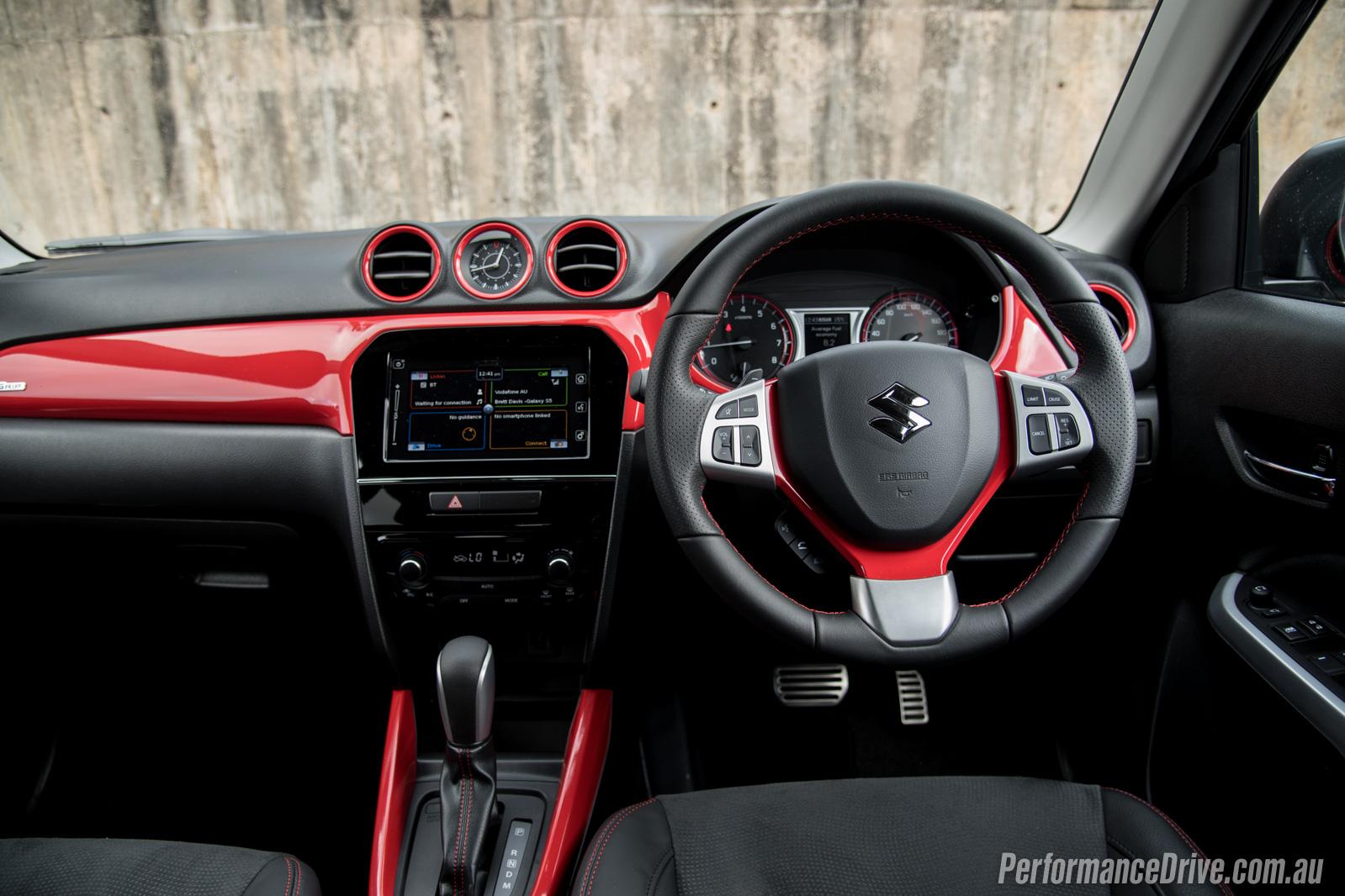 2016 Suzuki Vitara S Turbo Interior