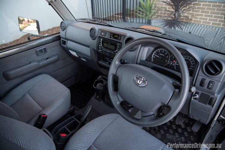 2016 Toyota LandCruiser 70 GXL-interior