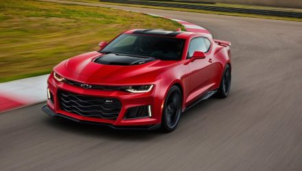 2017 Chevrolet Camaro ZL1 performance specs confirmed
