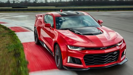2017 Chevrolet Camaro ZL1 final outputs leaked