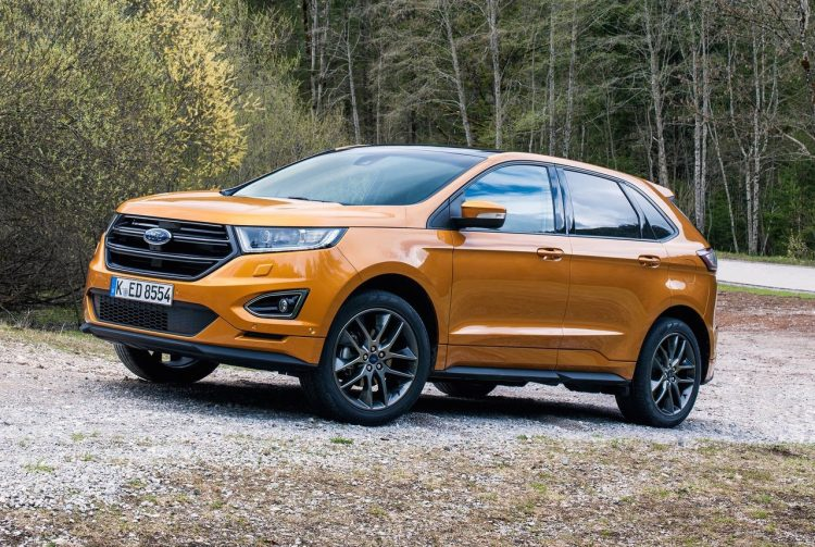 2017 Ford Edge Euro-spec