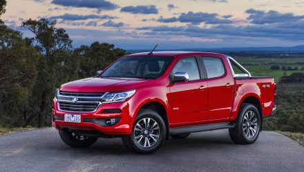2017 Holden Colorado on sale in Australia from $29,490