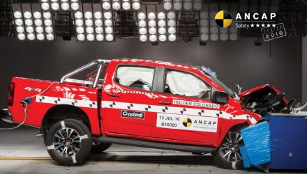 2017 Holden Colorado gets 5-star ANCAP rating, all variants