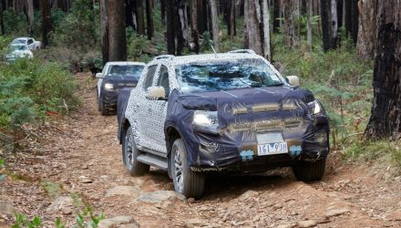 2017 Holden Colorado gets fine-tuned in Australia