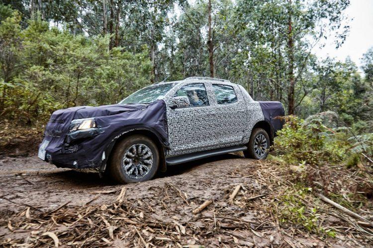 2017 Holden Colorado Australian testing