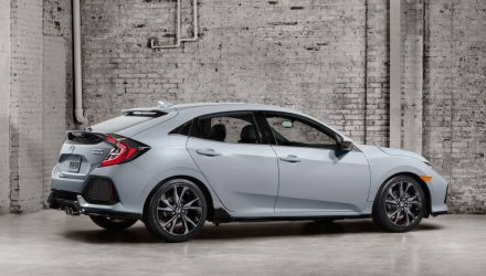 2017 Honda Civic hatch shown ahead Paris debut