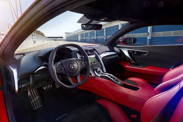 2017 Honda NSX-interior