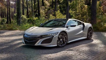 Honda NSX on sale in Australia from $420,000