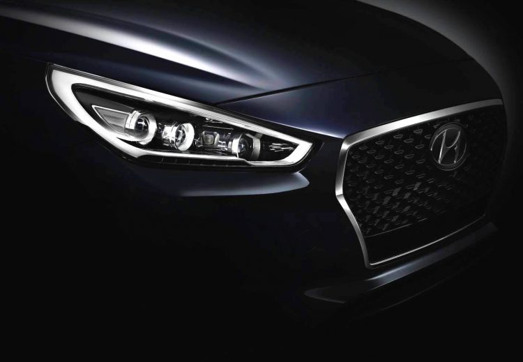 2017 Hyundai i30 teaser-grille