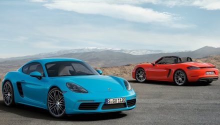 Porsche planning 'low-boost' 718 Boxster / Cayman for China