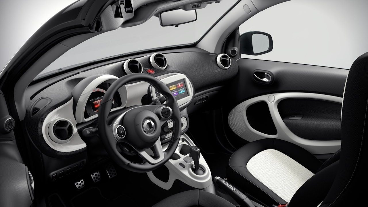 brabus sport package for 2017 smart fortwo revealed performancedrive. Black Bedroom Furniture Sets. Home Design Ideas