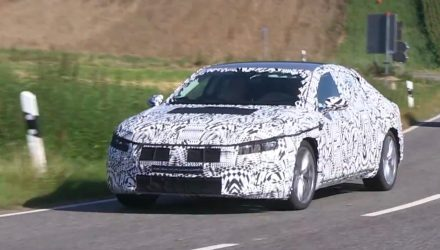 2017 Volkswagen Passat CC spotted, new four-door coupe confirmed? (video)