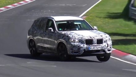 2018 BMW X3 G01 spotted, M Performance M40i? (video)