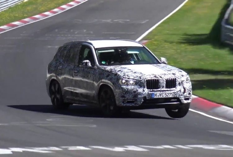 2018 BMW X3 M40i prototype
