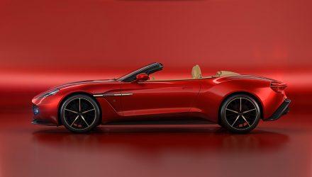 Aston Martin unveils Volante drop-top Vanquish Zagato