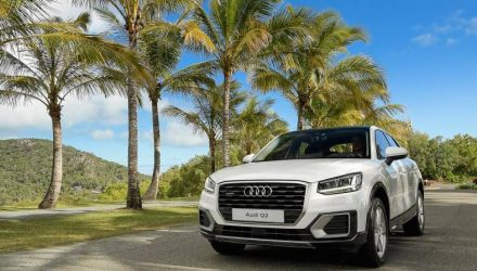 Audi Q2 makes Australian debut at Hamilton Island