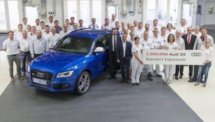 Audi Q5 Ingolstadt production passes 1 million milestone