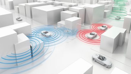 Audi debuts traffic light communication technology