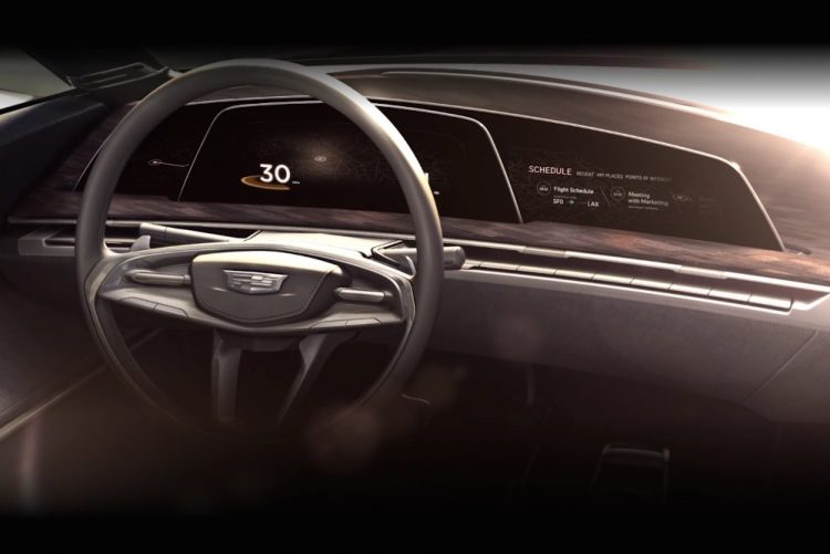 Cadillac OLED design concept