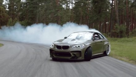 BMW 2 Series gets crazy V8 Chev LS conversion (video)
