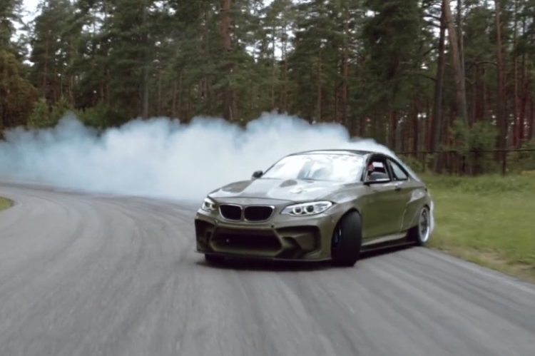 HGK BMW 2 Series LS V8 drift