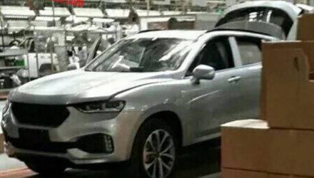 Production Haval Concept Coupe spotted in China