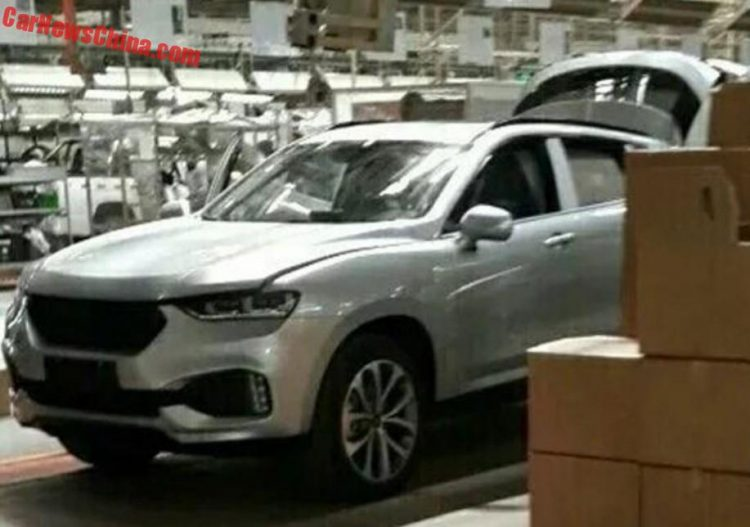 Haval Concept Coupe production