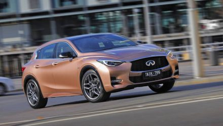 Infiniti Q30 now on sale in Australia from $38,900
