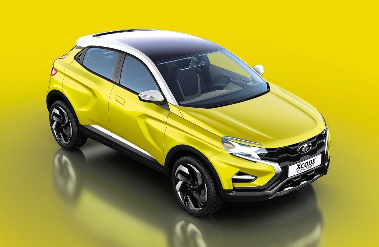 lada xcode concept revealed could spawn funky suv. Black Bedroom Furniture Sets. Home Design Ideas