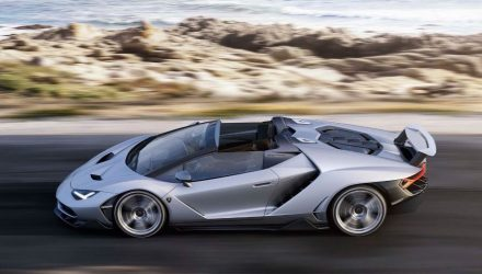 $3 million Lamborghini Centenario Roadster revealed
