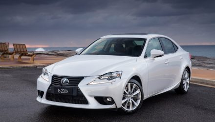 Lexus IS sedan passes 1 million production milestone