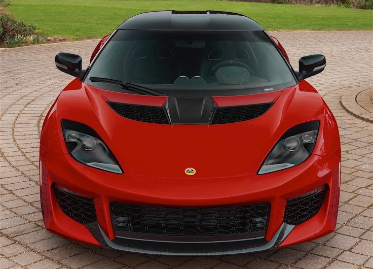 Lotus Evora 400 lightweight pack