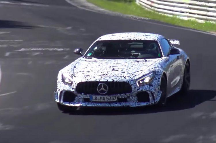 Mercedes-AMG GT R Black Series maybe