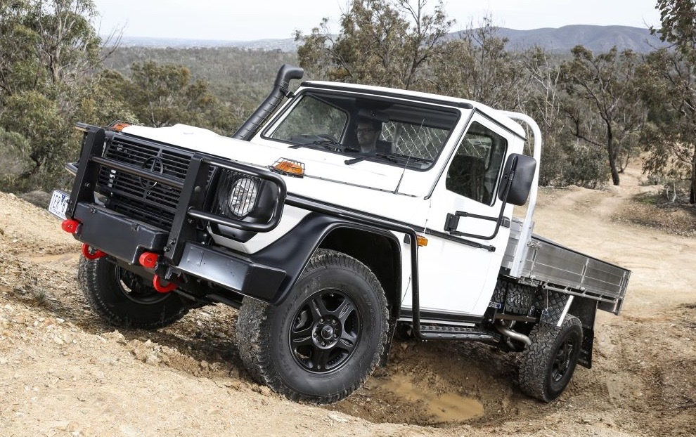 mercedes benz g 300 ute to be offered in australia in 2017 performancedrive. Black Bedroom Furniture Sets. Home Design Ideas
