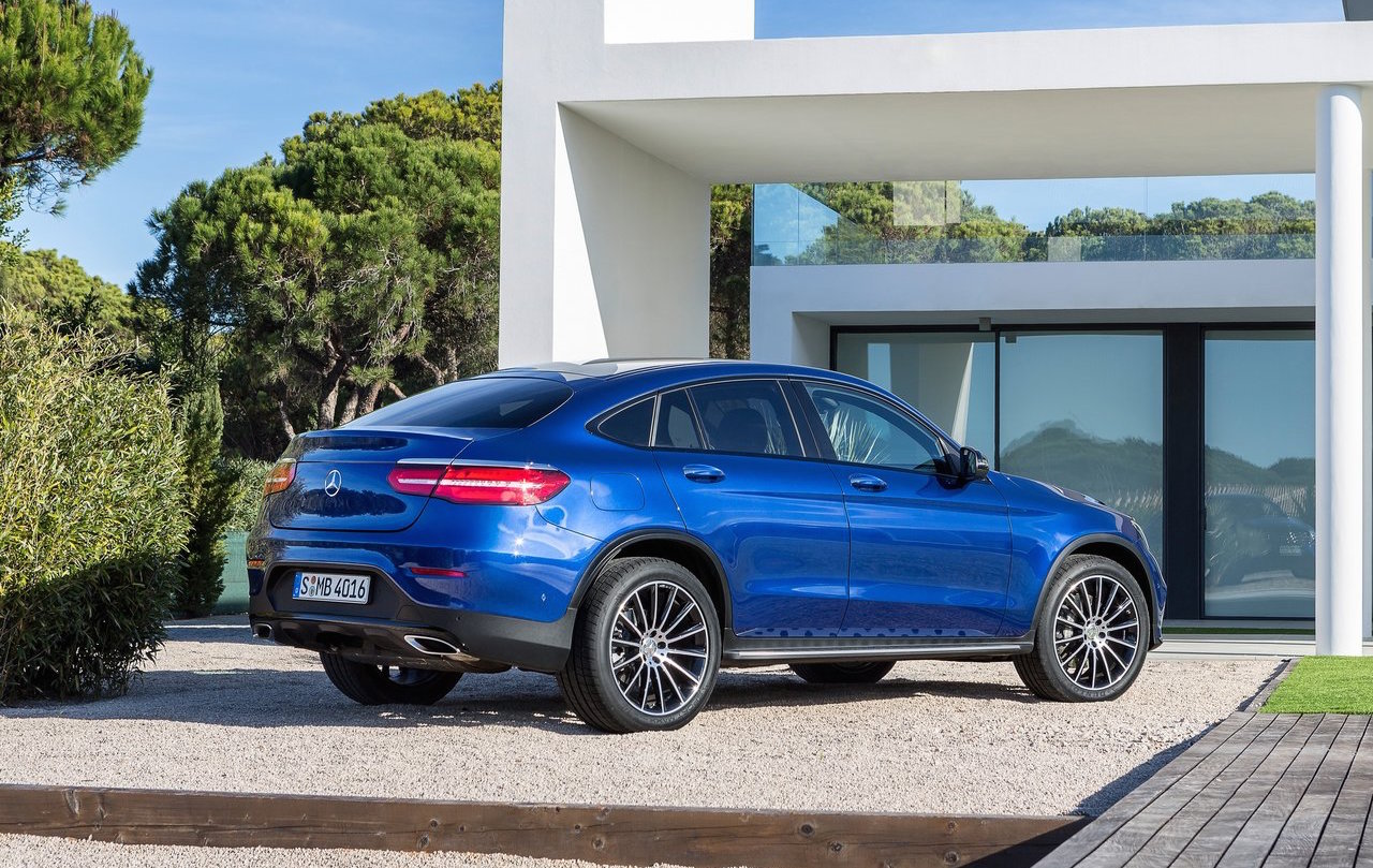 Mercedes Benz Glc Coupe Rear on Four Cylinder Performance Engines For Sale