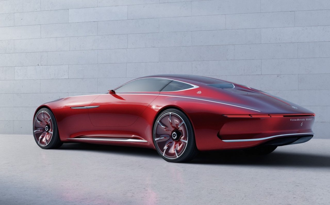 mercedes maybach vision 6 concept leaks out early performancedrive. Black Bedroom Furniture Sets. Home Design Ideas