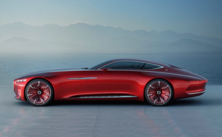 Mercedes-Maybach Vision 6 Concept-side