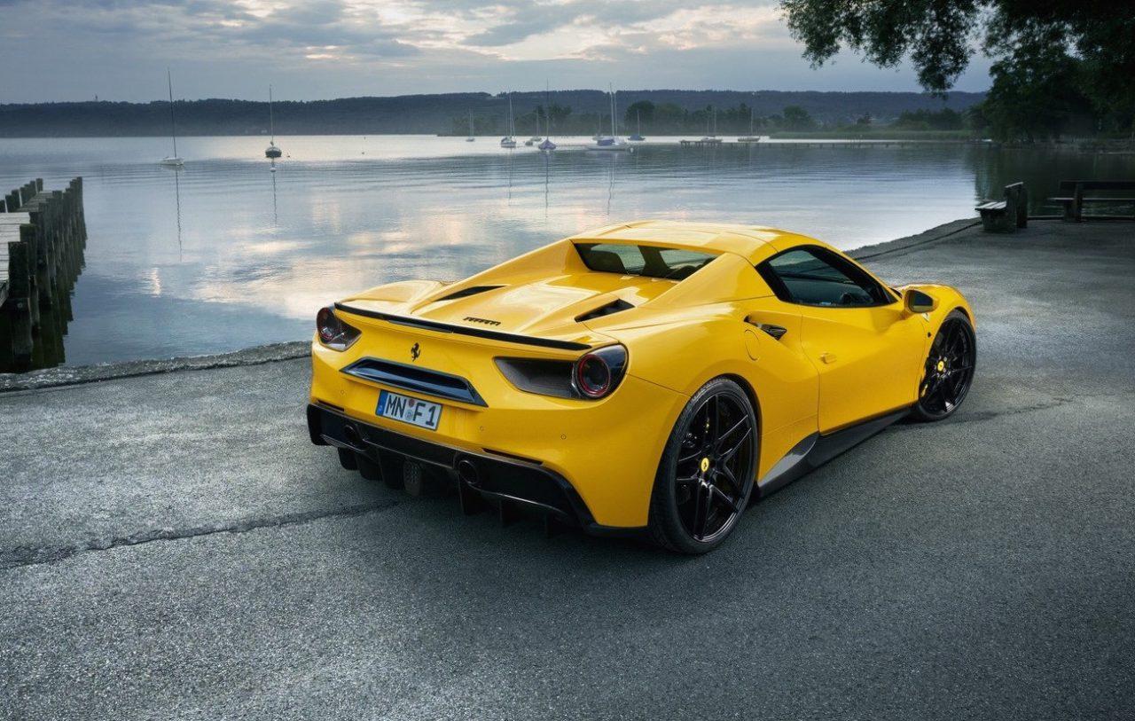 Novitec Ferrari 488 Spider Gets Tuned To 568kw Performancedrive